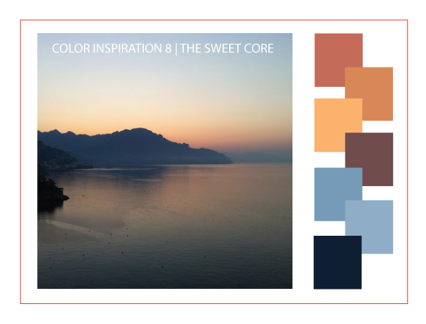 Color Inspiration 8 | the sweet core