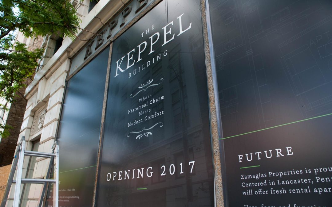 The Keppel Building, Breath new life into an old building.